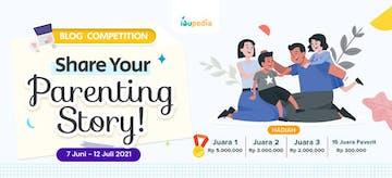 Ikuti Blog Competition Ibupedia! Total Hadiah 14,5 Juta Lho!