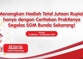 Ikuti Photo Competition SGM Bunda dan menangkan hadiah total 8 Juta!
