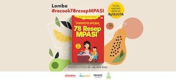 Lomba Recook Menu MPASI Buku Mommyclopedia 78 Resep MPASI