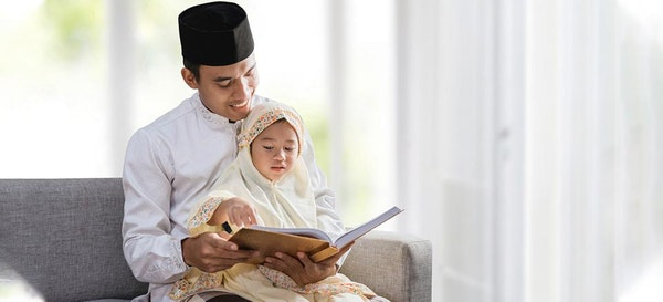 Mengajarkan Anak Baca Doa Kesehatan dan Keselamatan Keluarga