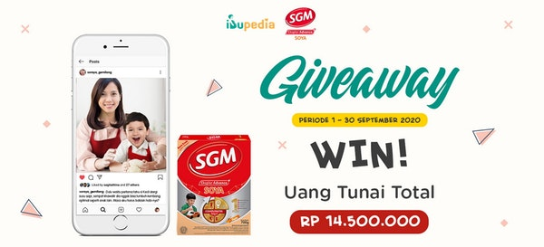 Yuk Ikut Kontes Foto SGM Soya, Menangkan Uang Tunai Total 14,5 Juta
